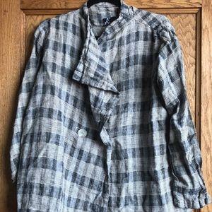 A linen Fenini jacket